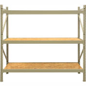 "JBX System 800 Boltless Wide-Span Shelving - 96""Wx36""Dx96""H - OSB Wood Decking - Starter Unit"