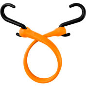 """The Perfect Bungee PBNH18 13"""" Bungee Strap With Nylon S Hook Ends (Overall Length 18""""), Orange - Pkg Qty 4"""