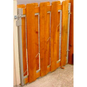"Adjust-A-Gate AG36-36 Original Series Adjustable Steel Gate Frame 2 Rail Kit 36-60""W x 36""H, Gray"