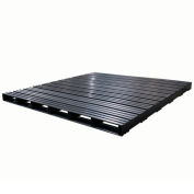 Jifram Extrusions 05000323 Mattress Pallet King Size 80 x 76 Two-Way Entry 1000 Capacity