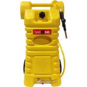 Chariot à carburant Diesel en polyéthylène de 25 Gal Gas & Go - ONU/DOT & Transport CA approuvé, GG-25PFC-D