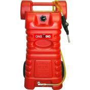 Polyéthylène gaz & Go 25 gallons de carburant chariot Caddy - ONU/DOT et approuvées par Transports Canada, GG-25PFC