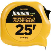 Johnson Level 1803-0025 25' Professionals Choice Power Tape