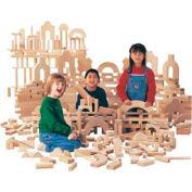 Jonti-Craft® Unit Blocks, Individual Set - 45 Pieces, 14 Shapes