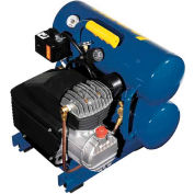 Jenny® AM780-HC4V-115/1, Portable Electric Air Compressor, 2 HP, 4 Gallon, Twin Stack, 3.9 CFM