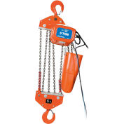JET Tools 5 Ton 15' Lift 115/230V 1PH Electric Chain Hoist Heavy Duty