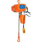 JET Tools 5 Ton 15' Lift 575V 3PH Electric Chain Hoist Heavy Duty
