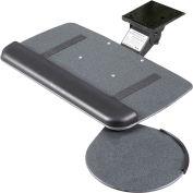 RightAngle™ JVS17/S Myriad Jr. clavier & plateau souris avec bras pivotant de valeur, noir