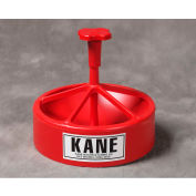 "Kane KSF-LP Low-Profile Snap Feeder with J-Hook 2-3/4"" Red"