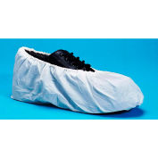 Super Sticky Non-Skid Shoe Covers, Water Resistant, White, XL, 300/Case