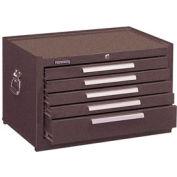 "Kennedy® 2805XB 29"" 5-Drawer Mechanics Chest w/ Ball Bearing Slides - Brown"