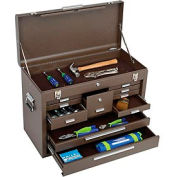 """Kennedy® 3611B 26"""" 11-Drawer Machinists Chest - Brown"""