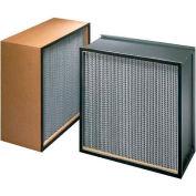 """Koch™ filtre H62A3X1 99,99% Biomax Hepa galv. acier/Dbl tourné bride 12"""" W x 24D «H x 11-1/2"""", qté par paquet : 2"""