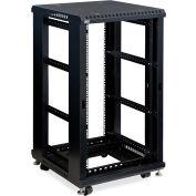 """Kendall Howard™ 22U BOUVILLONS® Server Cabinet, No portes/No panneaux, 24"""" profondeur latéraux"""