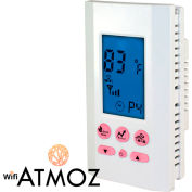 King Electric Wi-Fi Smart Thermostat ATMOZ2-240-WIFI Programmable Double-Pole Heat Only 240V 16A