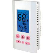 King Electric Line Voltage Programmable Thermostat K701E-B Single-Pole 120/208/240V 16A