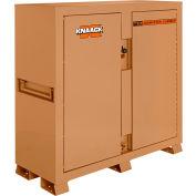 Knaack 111 Storagemaster® Piano Box w/ Ramp, 47.5 Cu. Ft., Steel, Tan