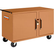 Knaack 58 Storagemaster® lourds roulant travailler banc, 1 000 lb, acier, Tan