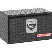 Weather Guard Underbed Truck Box, Black Aluminum Compact 2.4 Cu. Ft. - 622-5-02