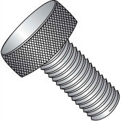 """#8-32 x 3/8"""" Knurled Thumb Screw - FT - 18-8 Stainless Steel - Pkg of 100"""