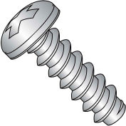 #8 x 1-1/4 Phillips Pan Self Tapping Screw Type B Fully Threaded 18-8 Stainless - Pkg of 2000