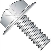 10-24X1/2  Phillips Pan Square Cone Sems Fully Threaded 18 8 Stainless Steel, Pkg of 5000