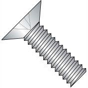 10-24X1  Phillips Flat 100 Degree Machine Screw Fully Threaded 18 8 Stainless Steel, Pkg of 2000