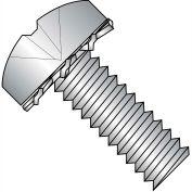 10-32X1/2  Phillips Pan External Sems Machine Screw Full Thrd 18 8 Stainless Steel, Pkg of 5000
