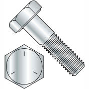 1-1/8-7 x 2-1/4 Hex Cap Screw - Coarse Thread - Grade 5 - Zinc - Pkg of 50