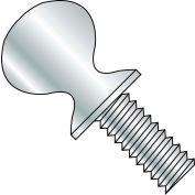 """1/4-20 x 1/2"""" Thumb Screw w/ Shoulder - FT - Zinc - Pkg of 800"""