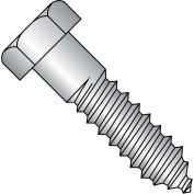 1/4 x 3 1/2 Hex tirefond 18 8 inox, paquet de 100
