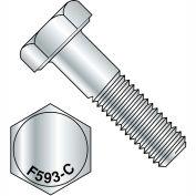 5/16-18X1/2  Hex Cap Screw 18 8 Stainless Steel, Pkg of 100