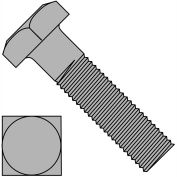 5/16-18 x 3 1/2 carrés Machine Boulon ordinaire, paquet de 200