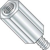 10-32 x 1 1/2 trois Eigths Hex mâle femelle butoir en aluminium, paquet de 1000