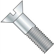1/2-13X3  Slotted Flat Cap Screw Zinc, Pkg of 200
