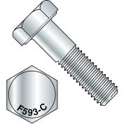 5/8-11 x 3 vis à tête hexagonale 18 8 inox, paquet de 25