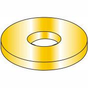 #4 AN960, militaire vis à métaux à rondelle - jaune Cadmium - Pkg de 5000