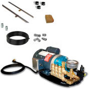Koolfog KF30 30' Stainless Steel Misting Kit System, W/120 Volt,1 HP G2-40 Pump