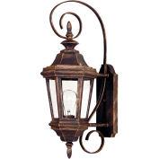 "Kenroy Lighting, Estate Small Wall Lantern, 16312AP, Antique Patina Finish, Aluminum, 10""L"