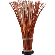 "Kenroy Lighting, Sheaf Floor Lamp, 21065NR, Natural Reed Finish, Natural Reed, 9""L"