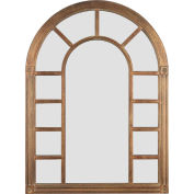 "Kenroy Lighting, Cathedral Wall Mirror, 60014, Bronze Finish, Wood, 1""L"