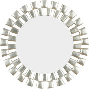 "Kenroy Lighting, Gilbert Wall Mirror, 60019, Silver Finish, Polyurethane, 1""L"