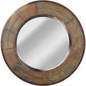 "Kenroy Lighting, Keene Wall Mirror, 60087, Natural Slate Finish, Slate, 1""L"