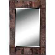 "Kenroy Lighting, Birch Bark Wall Mirror, 61002, Birch Bark Finish, MDF, 1.25""L"