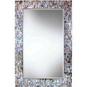 "Kenroy Lighting, Reverie Wall Mirror, 61005, Luster Mosaic Finish, Polyurethane, 28""L"