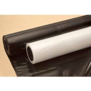 """Construction & Agricultural Film, 6""""W x 100'L, 4 Mil, Black, 1 Roll"""