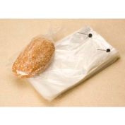 """Wicketed Bags, 7-1/2"""" x 13-1/8"""" + 2-1/2"""" Bottom Gusset, 1.25 Mil Clear, 1000/CASE"""