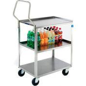 Lakeside® 4459 gestionnaire inox panier 54-1/8 x 23-3/8 x 49-1/4 500 Lb Cap