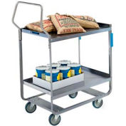 Lakeside® 4543 NSF HD Handler 2 Shelf Cart 38-5/8 x 22-3/8 x 49-1/8 700 Lb Cap