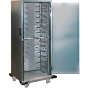 Lakeside® 6540 Stainless Steel Transport Cab With Universal Ledges - 17 Tray